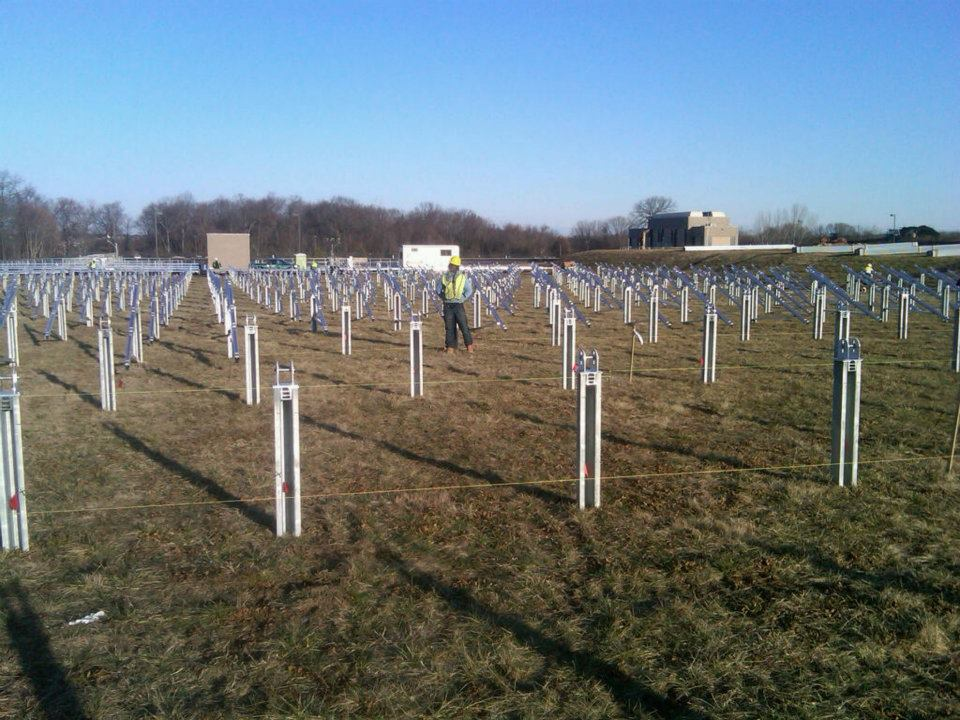 New Jersey American Water Installing Two Solar Fields At
