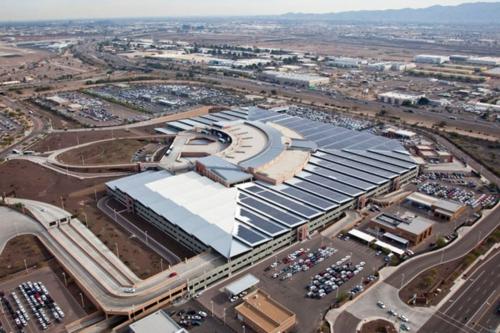 Phoenix Airport Dedicates 5 4 Mw Solar Power System