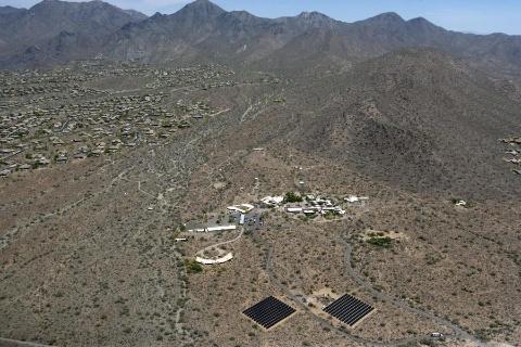 Frank Lloyd Wright Foundation First Solar Complete 250 Kw
