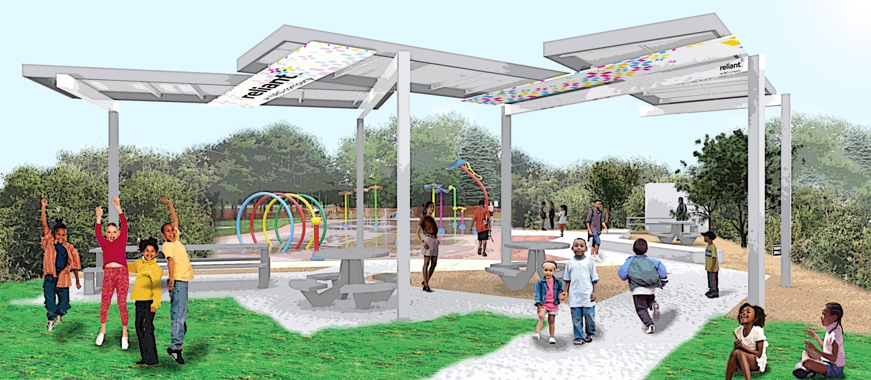 Reliant 39 S Houston Solar Powered Splash Park Now Open