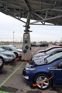 Envision Solar Installs Solar Tree at Cadillac Dealership