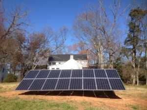 Southern Energy Mgmt Installs Solar Array at Historic Bed & Breakfast