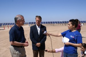 First 17 MW of Foothills Solar Power Plant in Arizona Completed