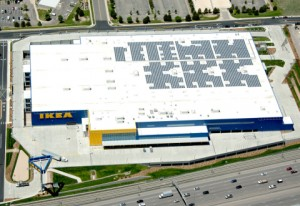 Solar System on IKEA Roof in Denver to Double in Size