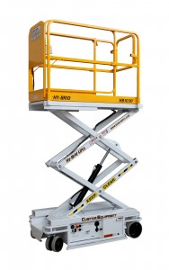 Custom Equipment's Low-Level Scissor Lifts Have 750 lbs of Capacity