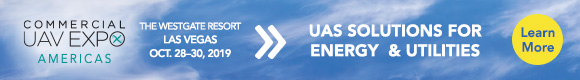 Commercial UAV EXPO Americas | Oct. 28-30, 2019 | Learn More