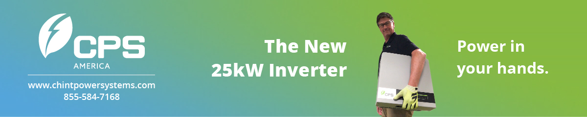 CPS America | The New 25kW Inverter | Power in your hands. | Learn More