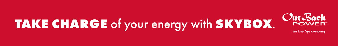 TAKE CHARGE of your energy with SKYBOX. | OutBack POWER, an EnerSys company