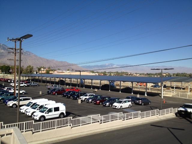 Carports Installed at California Car Dealer | Solar Builder