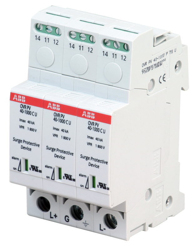 New Pv Surge Protection Devices From Abb Low Voltage