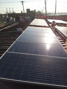 MA Tech Services solar array