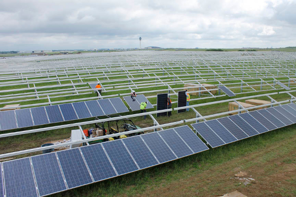 The Indy 24 000 Kw Solar Builder